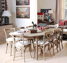 Extendable Dining Table Seats 10 Distressed White Extending Dining Table Antique Round Oval Wood