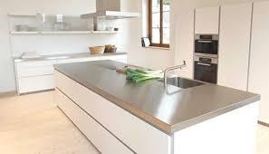 plan de travail pour cuisine blanche charmant plan de travail pour cuisine blanche et quel plan de