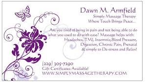 Massage Therapy Business Cards 6 Best Images Of Best Massage Therapy Business Cards Massage
