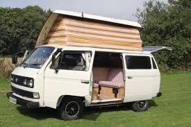 volkswagen old van retro camper van hire