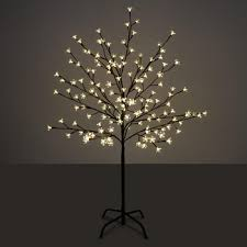 iron trunk sparkling led cherry blossom tree light with slim