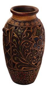 Colored Vases Wholesale Bulk Wholesale Handmade 18 U201d Glittery Dark Brown U0026 Red Colored