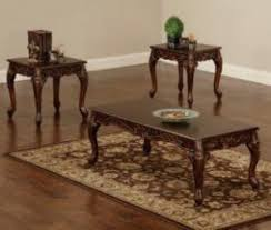 brown coffee table set coffee table sets product types good home centers
