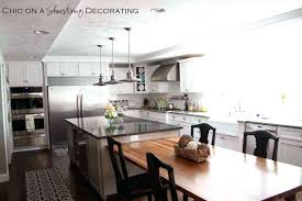 Kitchen Island Tables With Stools Interesting Kitchen Island Table Combo Photos Best Idea Home
