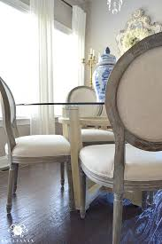 Paint Dining Room Table Breakfast Room Table Makeover Easy Chalk Paint Diy Kelley Nan