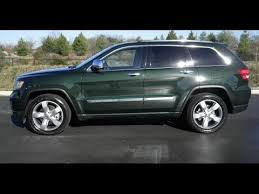 green jeep grand cherokee sold 2011 jeep grand cherokee limited 4x4 5 7 hemi rear dvd green