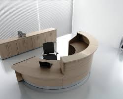 bureau rond mobilier bureau accueil bureau prix eyebuy