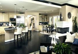 kitchen living room color schemes kitchen and living room colors medium size of living dining