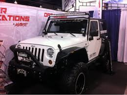 white jeep sahara 2 door the jeeps just don u0027t stop sema 2013 truck trend