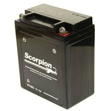 yt12cl battery scorpion 12 volt motorcycle batteries