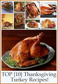 top 10 thanksgiving turkey recipes