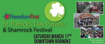 st patrick u0027s day parade and shamrock festival home facebook