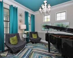 Turquoise Blackout Curtains Turquoise Blackout Curtains Reference For Mediterranean Patio With