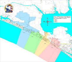 Florida Beaches Map by Bay County Supervisor Of Elections U003e Voter Info U003e Maps And Boundaries