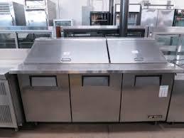 Used Sandwich Prep Table by Used True Tssu 72 30m B St Mega Top Sandwich Salad Prep Unit