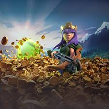 wallpaper coc keren for android archer queen clash of clans hd games 4k wallpapers images