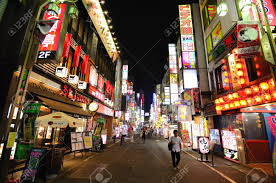 japan red light district tokyo tokyo july 4 kabukicho is the historic red light district stock