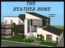 Modern Mansion Mod The Sims Heather Home A Modern Mansion