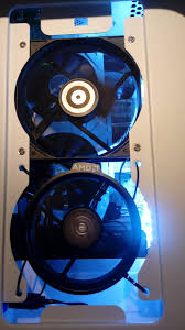 yes that is an amd stock cooler zip tied into a fan slot my