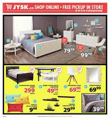 Bedroom Sets Jysk Jysk Weekly Flyer Weekly End Of Season Sale Jul 27 U2013 Aug 2