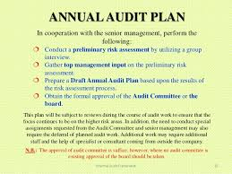internal audit audit plan templates fsms audit plan template in