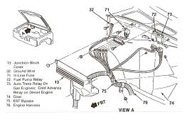 where is the fuel pump relay located on a 1987 chevy silverado