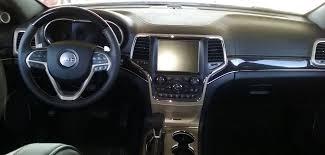 2017 jeep grand cherokee dashboard review 2017 jeep grand cherokee overland 4x4 creative auto reviews