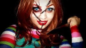 Chucky Halloween Costumes Girls Beautiful Chucky Makeup Halloween Photos Harrop Harrop