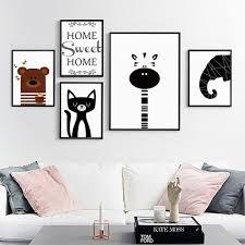 Peinture Noir Et Blanc by Online Get Cheap Affiches U0026eacute L U0026eacute Phants Noir Et Blanc
