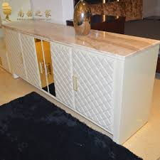 italian design home furniture living room cabinet marble dining