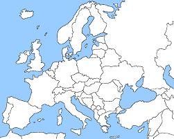 eurpoe map blank digital map of europe youreuropemap com