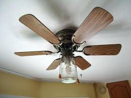 hunter mason jar ceiling fan how to replace light fixture with ceiling fan yepi club
