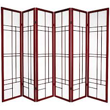 Asian Room Dividers by Oriental Furniture Asian Decor 6 Feet Eudes Japanese Shoji Privacy