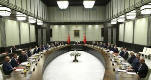 The Presidential Cabinet Erdogan Chairs Turkish Cabinet Meeting Pushing Presidential Powers