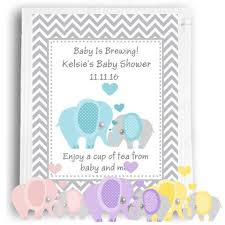 Tea Baby Shower Favors by Baby Shower Tea Favors