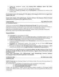 Sample Resume For Oracle Pl Sql Developer by Resume Nishant Verma Jee Consultant With 10 Years 1