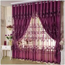 interior unique lavender blackout curtains for window decor idea