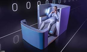 Most Comfortable Airlines The U0027world U0027s Most Advanced Airline U0027 Seat Revealed Daily Mail Online