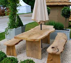 remarkable natural wood outdoor table natural plastic patio