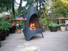 Steel Chiminea Innovative Ideas Tall Fire Pit Beauteous Amazoncom Black 45quot