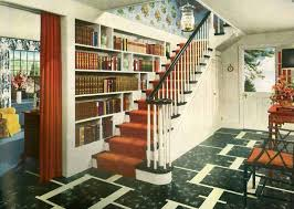 american home interior design 1940s traditional american home hallway vintage interior design