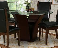Dark Wood Kitchen Table Innovative Ideas Dark Wood Round Dining Table Peaceful Design Dark