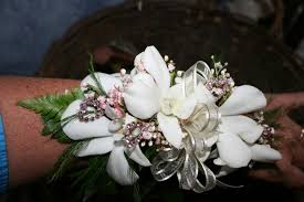 white orchid corsage 934 white orchid corsage pink bling s creations