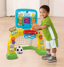 smart sports activity center 2 in 1 kids basket ball hoop center