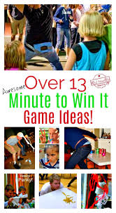 over 13 awesome minute to win it party games for kids teens and