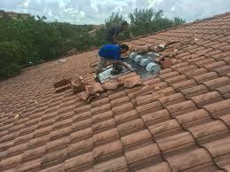 Tile Roof Repair Tile Roof Repair In Vero My Florida Roofing Contractor