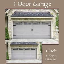 garage doors one piece garage door hardware home depot holmes