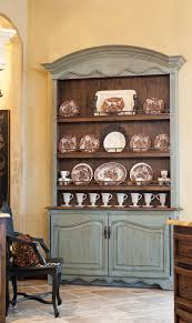 baroque buffet hutch in dining room traditional with built in