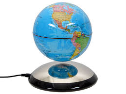 Earth Home Decor by Products Magnetic Levitating Globe Anti Gravity Floating Rotate