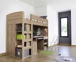 queen loft bed with stairs home design styles